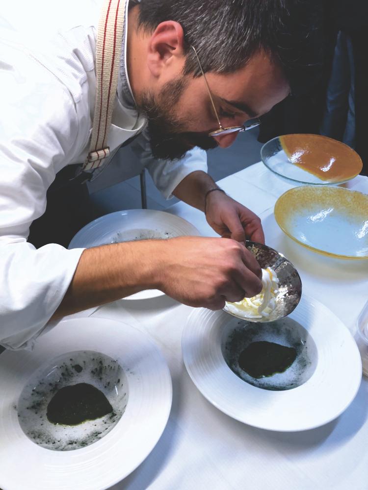 Maurizio Massa Chef 'A Cava al lavoro